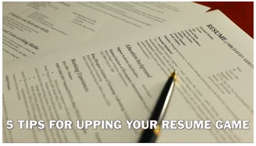 Spatial Jobs Online  What A Resume Should Look Like